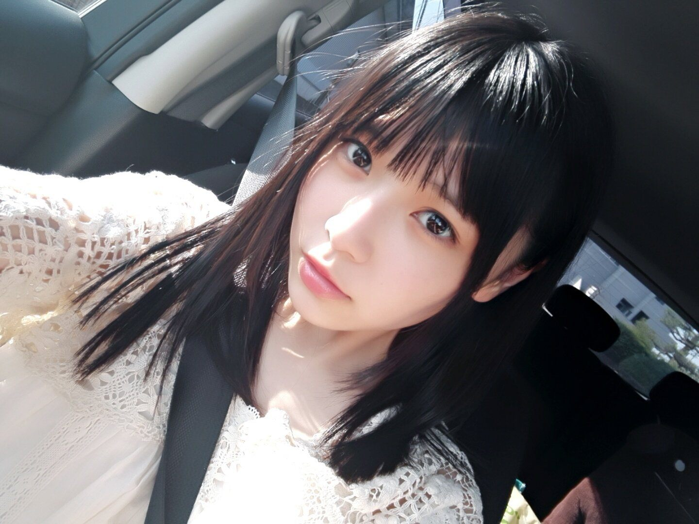 This baby faced japanese babe loves to suck dick 8