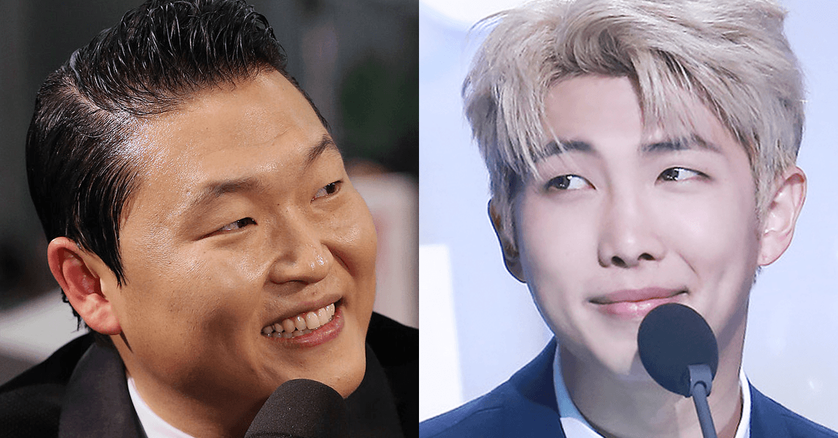 PSY Expressed His Admiration For BTS At A Recent Press Conference