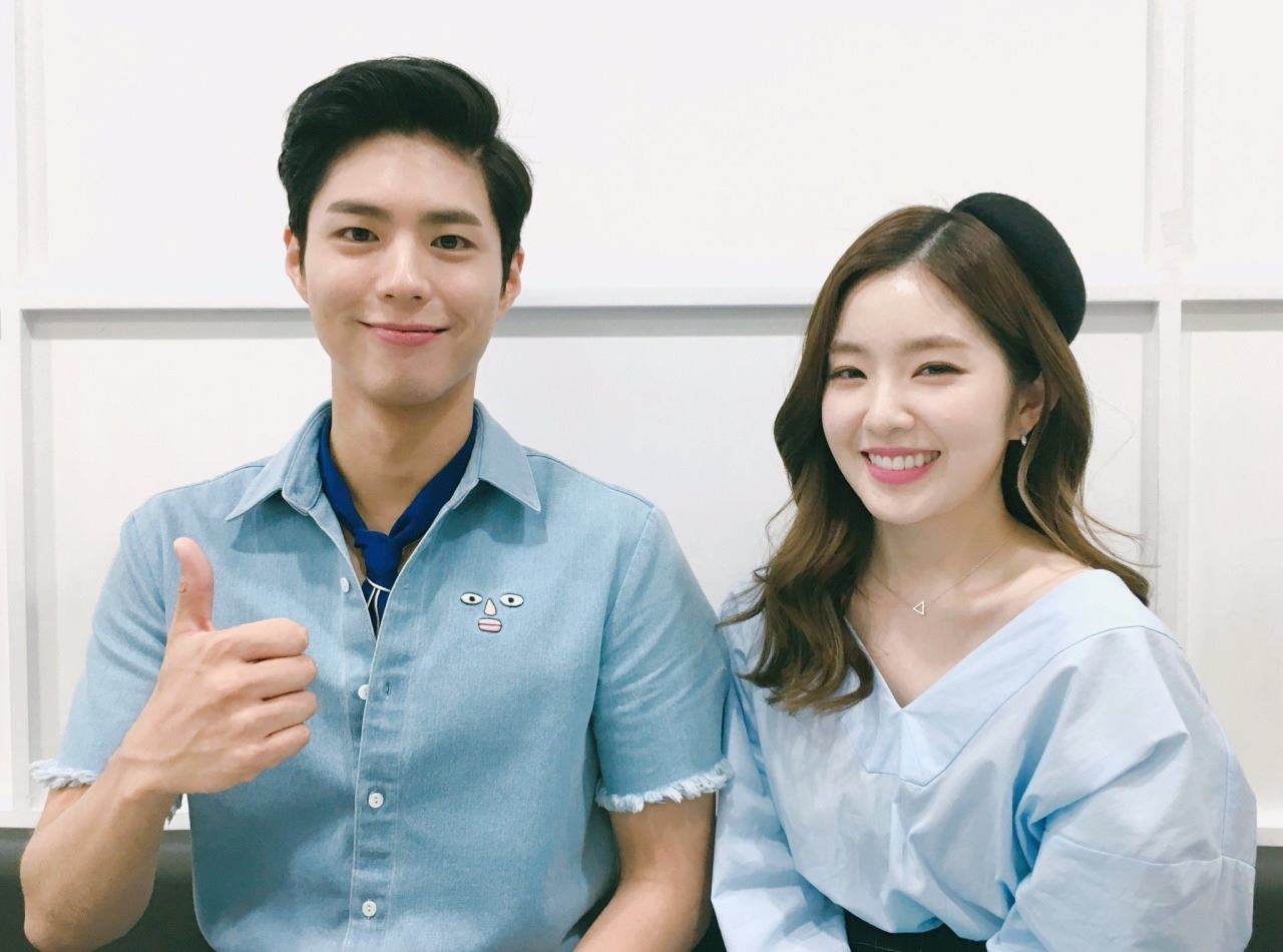 Park Bo Gum and Irene will MC Singapores Music Bank Together