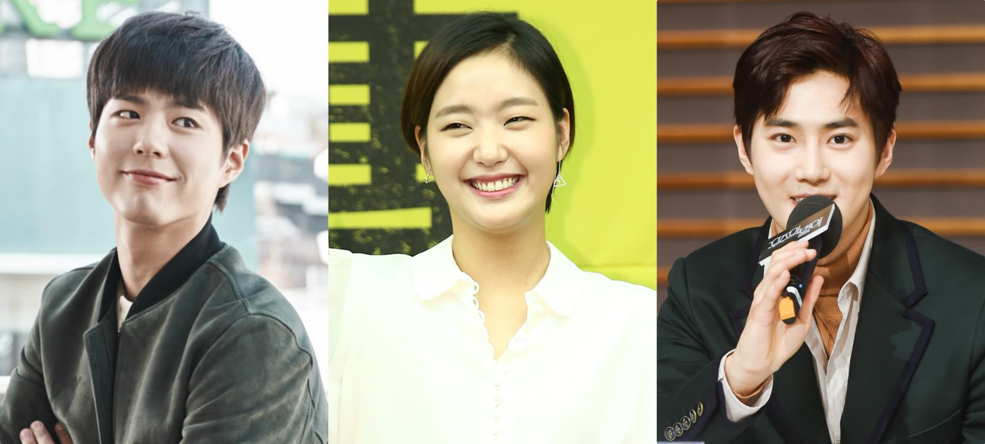 Park Bo Gum and EXOs Suho Surprise Kim Go Eun At Her First Ever Fan Meet