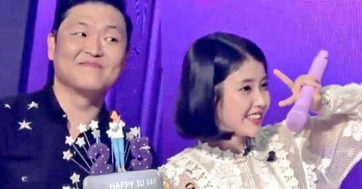 PSY Went Above And Beyond To Make IU's Birthday Despite Her Busy Schedule