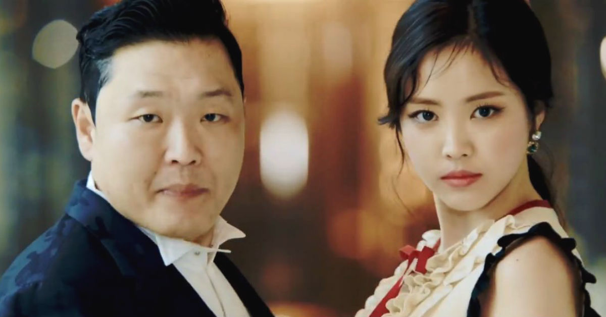 PSY Revealed Naeun Was The Perfect Choice To Work With For This Reason