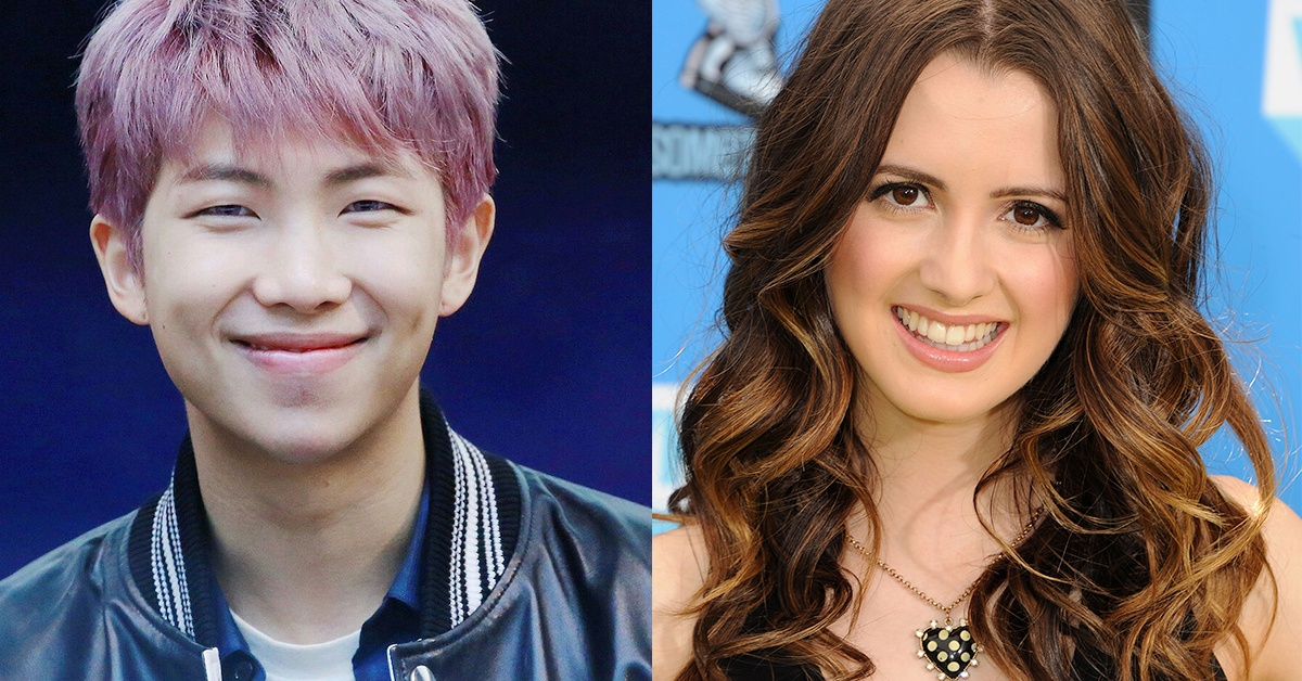 BTS Spotted Dancing With Disney Star Laura Morano