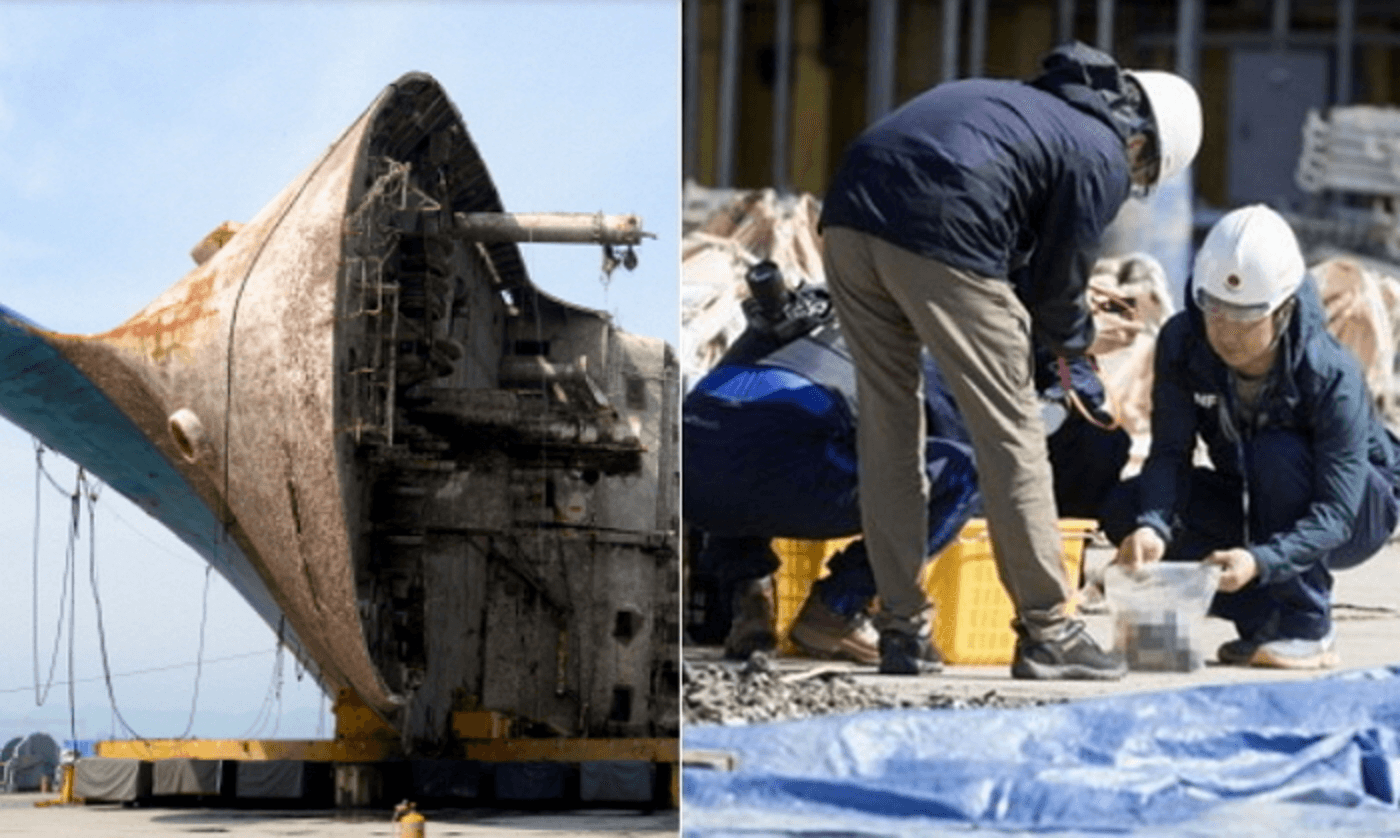 [★BREAKING] More Skeletal Remains Of Missing Sewol Ferry Passengers Have Been Discovered