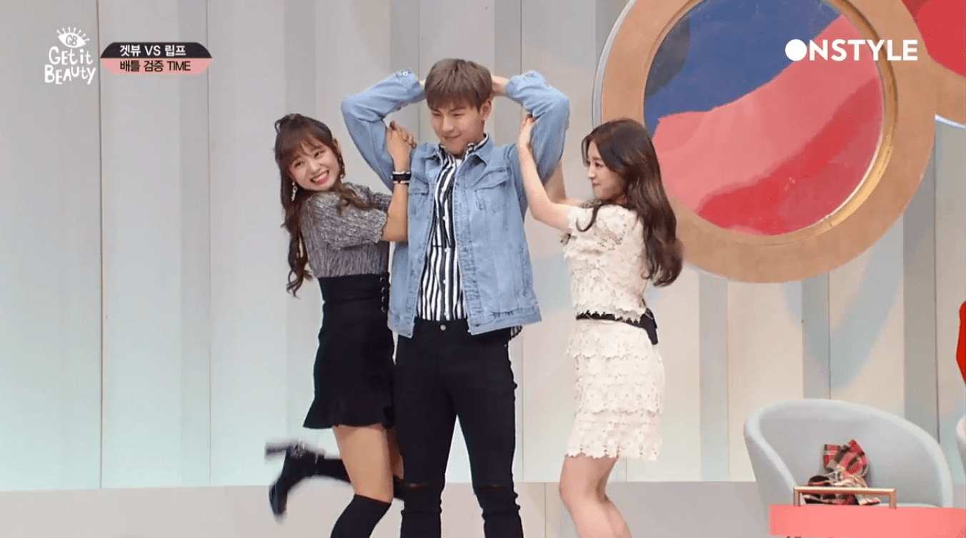 MONSTA X Shownu Is So Strong He Can Lift Two Women At Once