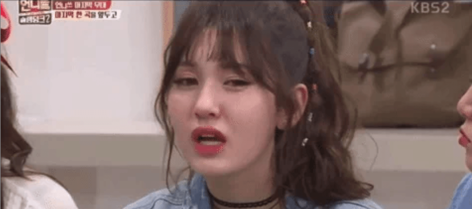 Somi Breaks Down In Tears, Everything I do is temporary