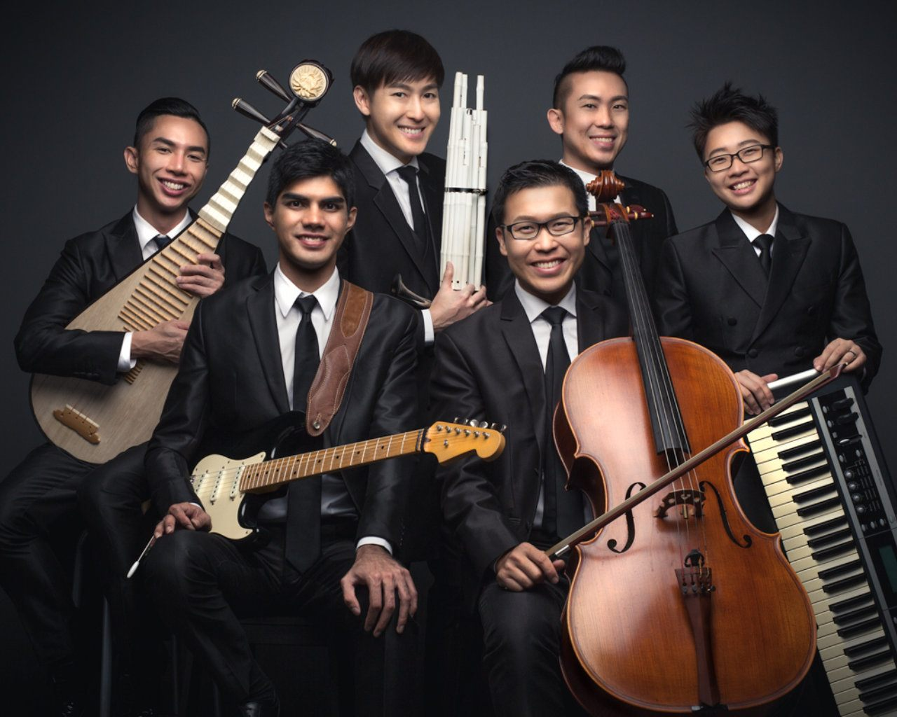 Singapore band covers Disney songs with traditional instruments