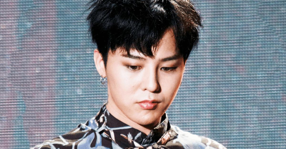G-Dragon Personally Apologizes For T.O.Ps Marijuana Drug Scandal