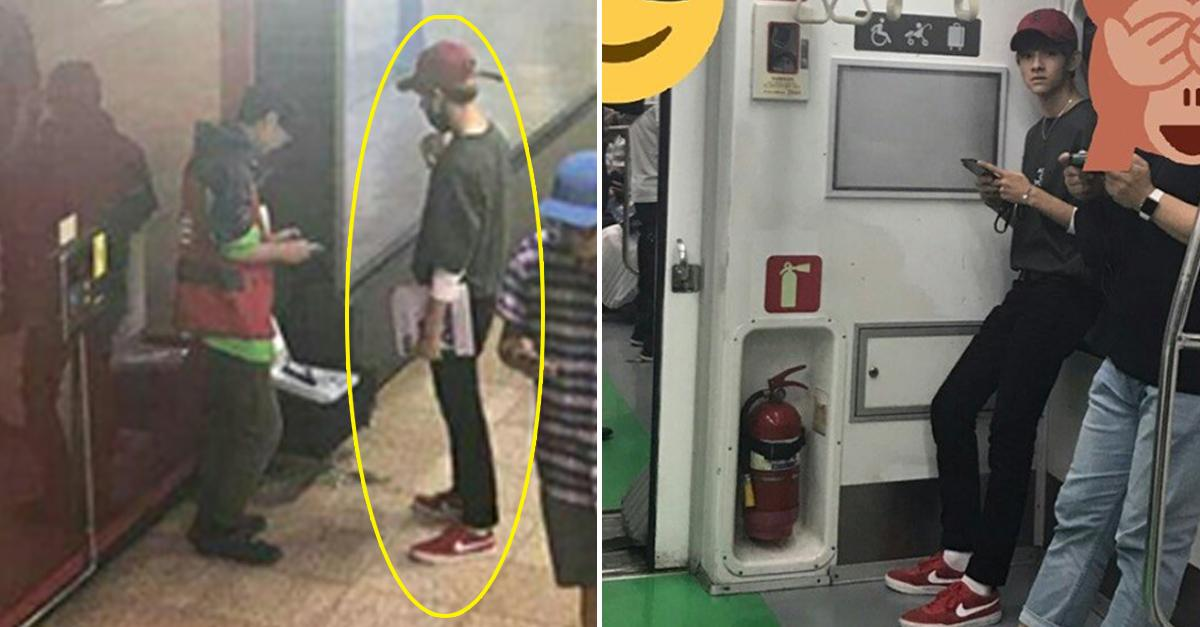 Produce 101s Kim Samuel Spotted Supporting a Homeless Man
