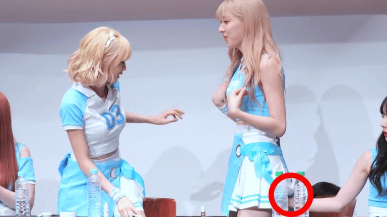 Hand Under Her Skirt