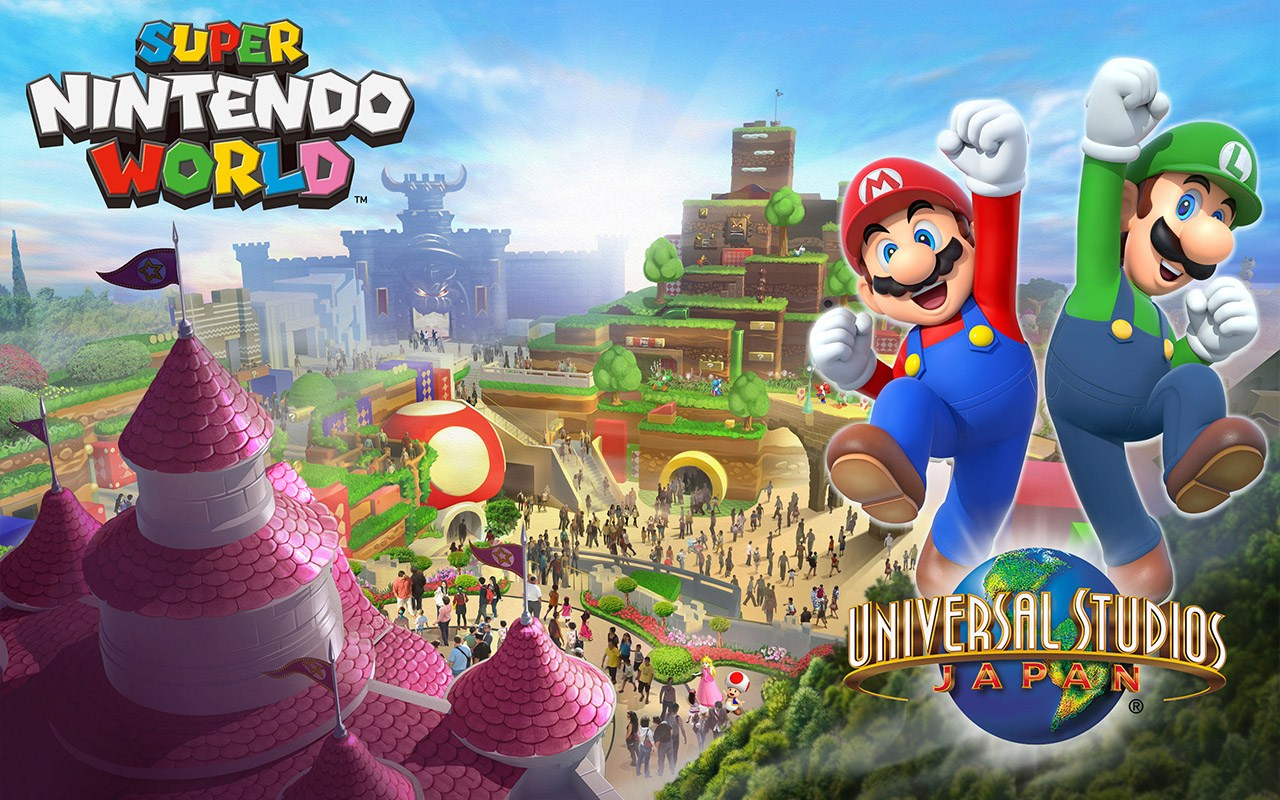 A nintendo theme park is opening in japan koreaboo for Super studio