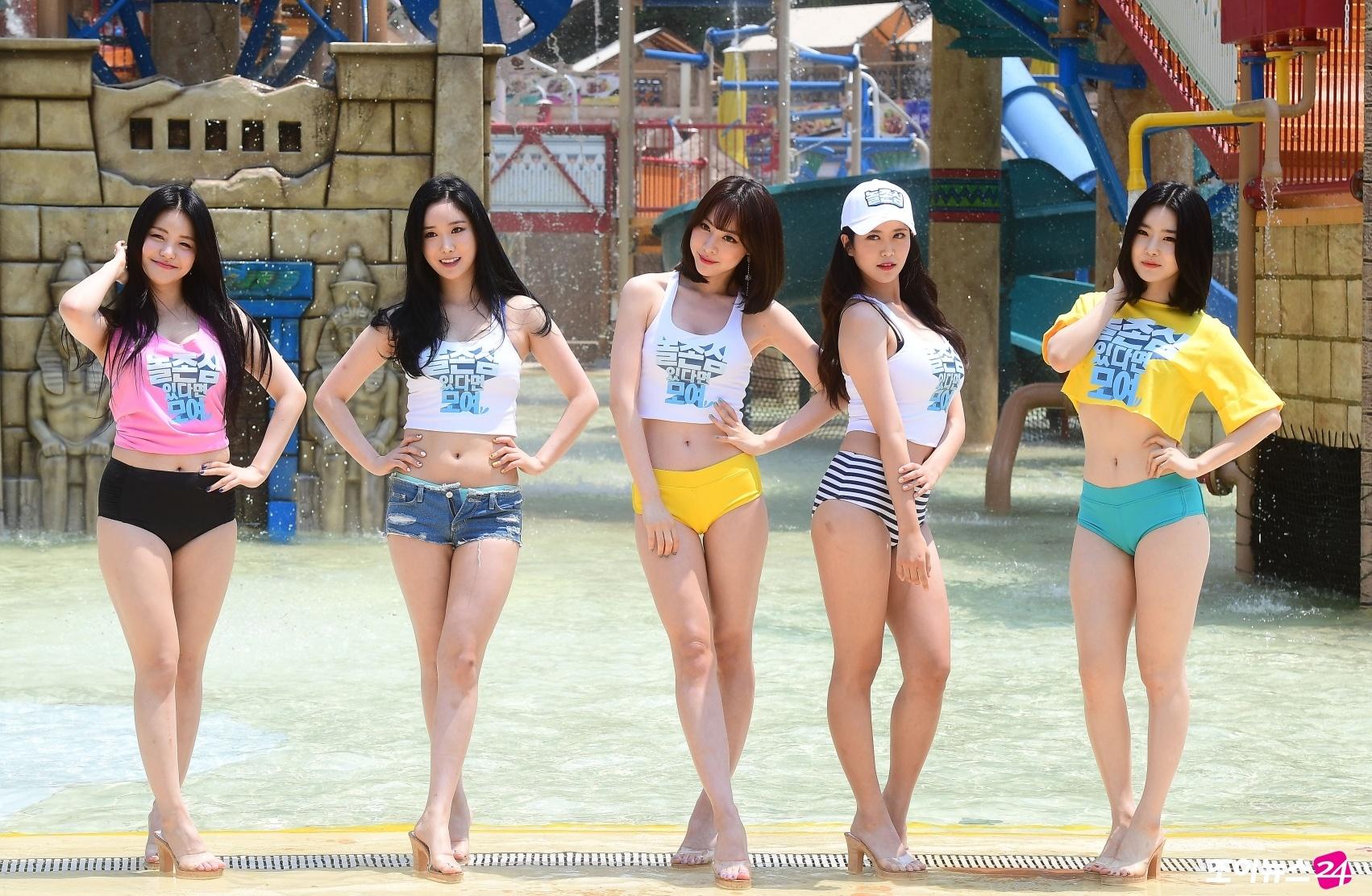 in their bikini Girls