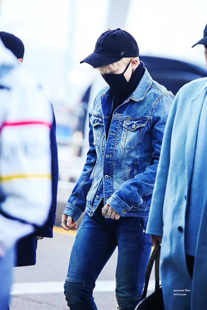 22 Pictures of BTS Jimin In Jeans You Didn't Know You