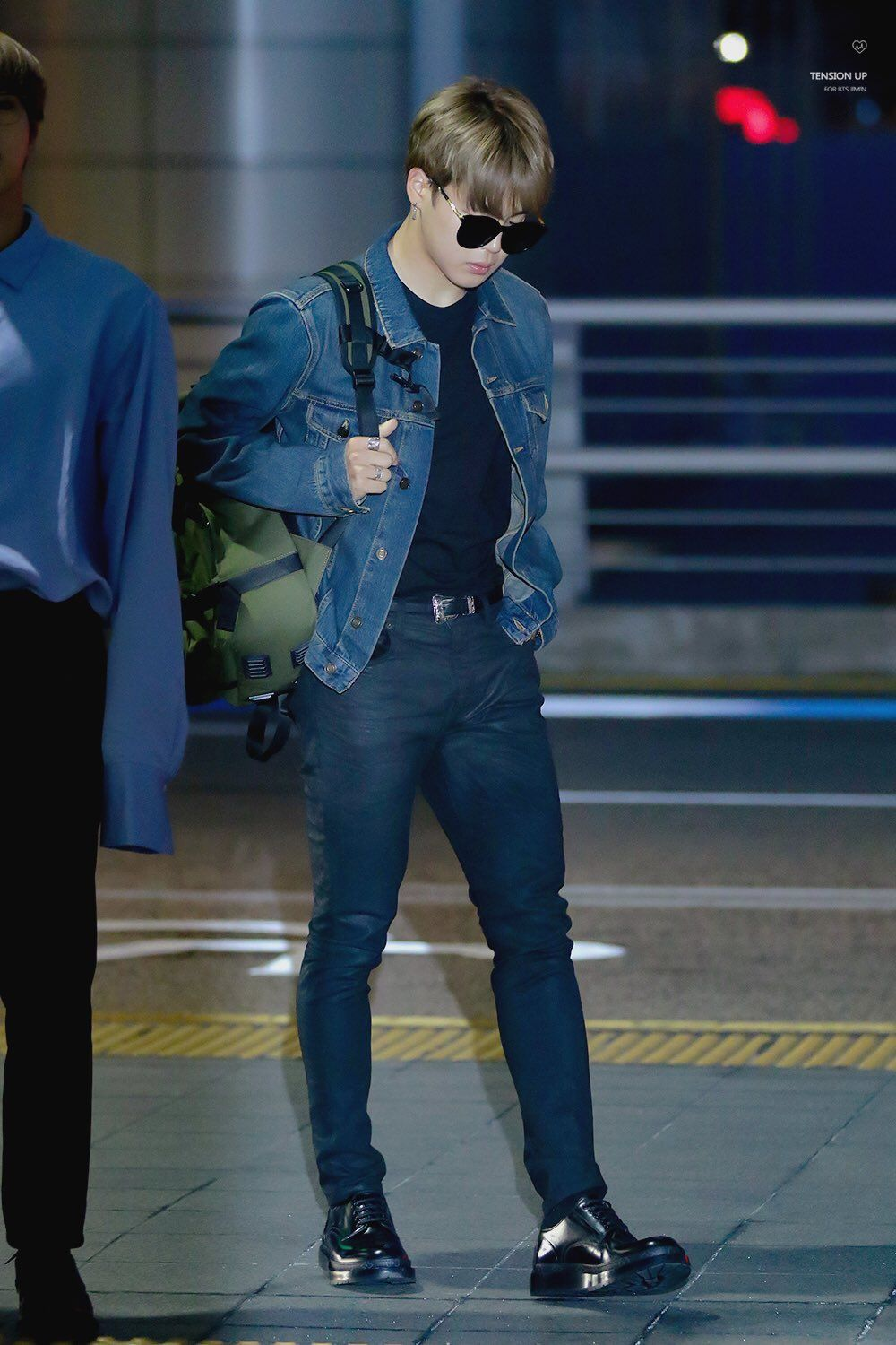 22 Pictures Of Bts Jimin In Jeans You Didn T Know You