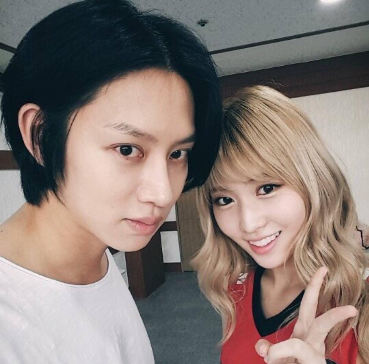 Heechul dan Momo TWICE