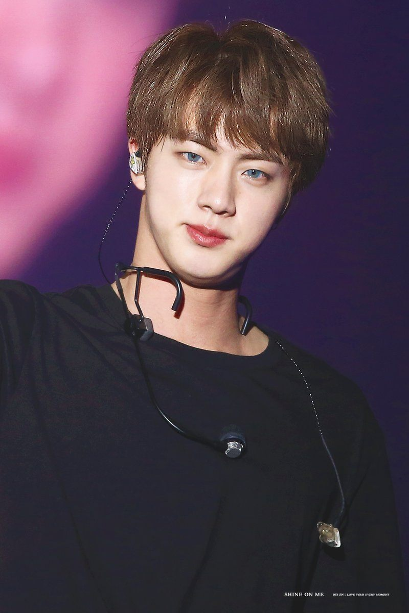 We Found 72 Photos Of Bts Jin S Anime Sized Shoulders