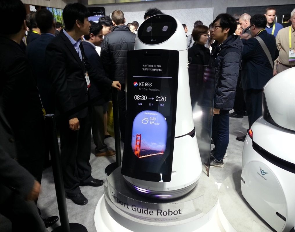 Troika robot south korea incheon airport