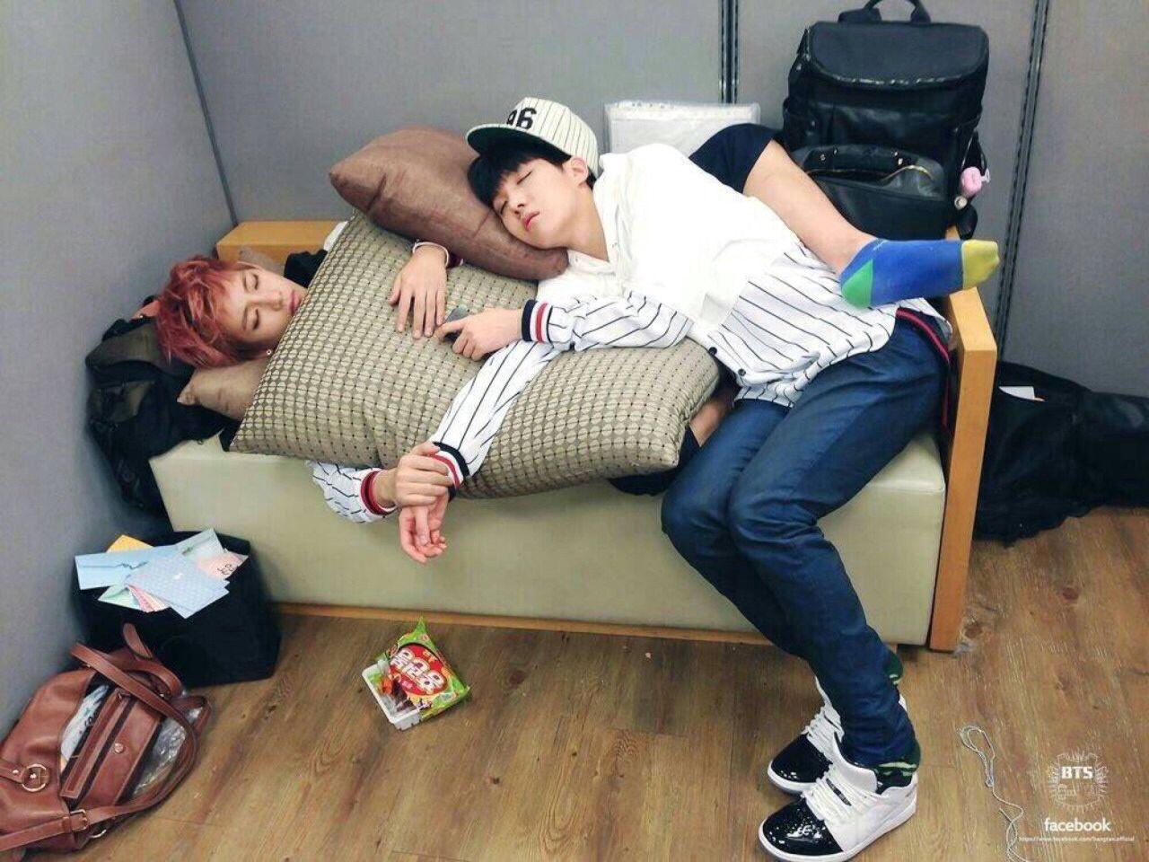 Bts Sleeping