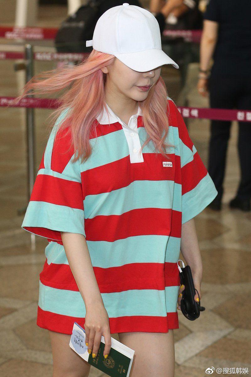 Hyoyeon S Unicorn Fré Comeback Hair