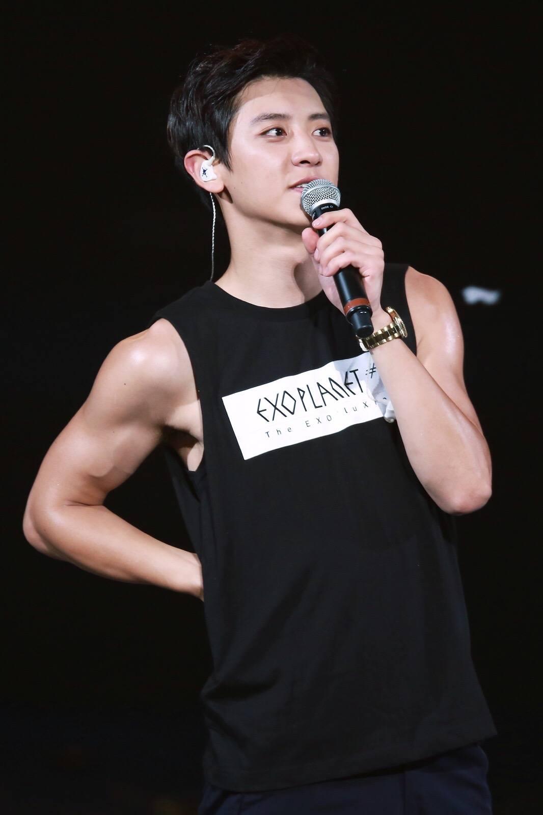 Chanyeol abs