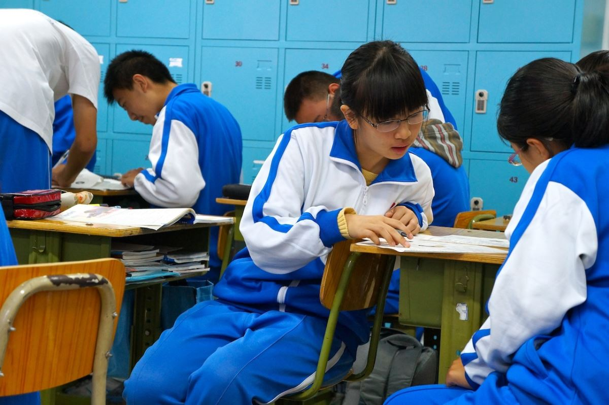 School chinese uniforms photo pictures