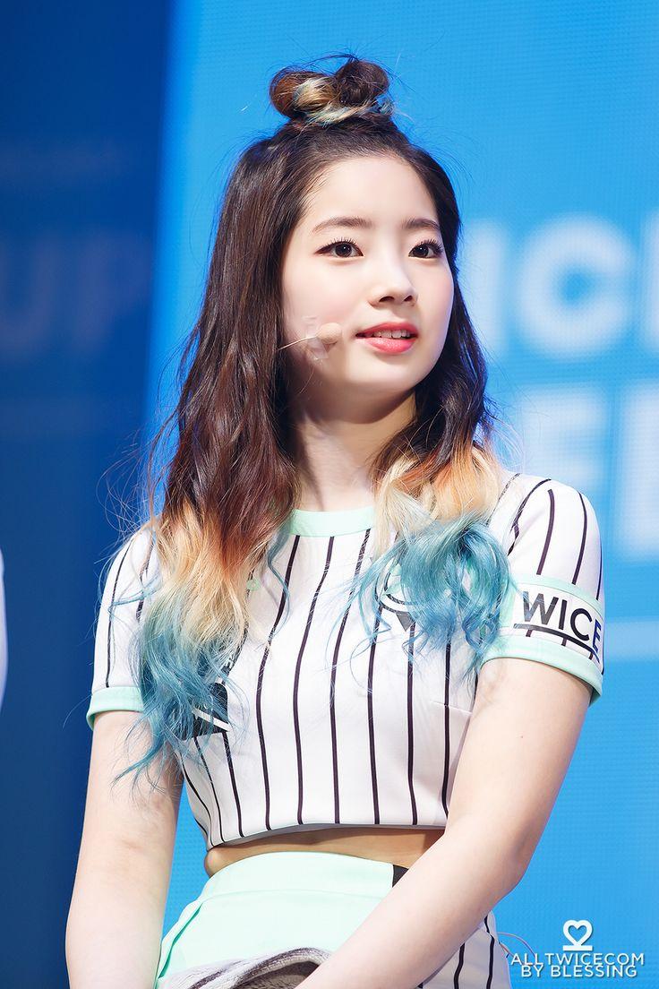 14 Completely Inspiring Photos Of Dahyun S Perfect Dip Dye
