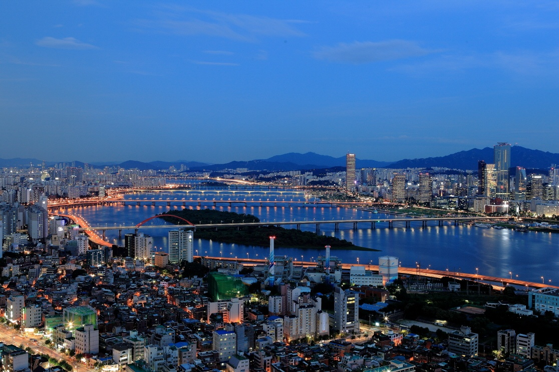 Best place to watch han river light show - Seoul Forum ...