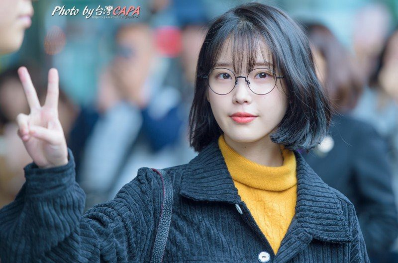 These pictures prove iu has perfected the short hair style koreaboo bangs urmus Image collections