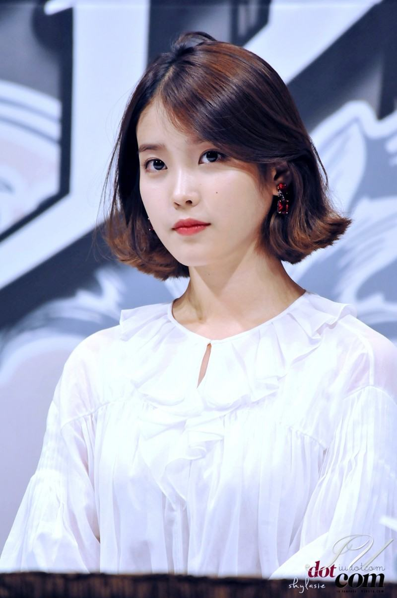 These Pictures Prove IU Has Perfected The Short Hair Style - Koreaboo