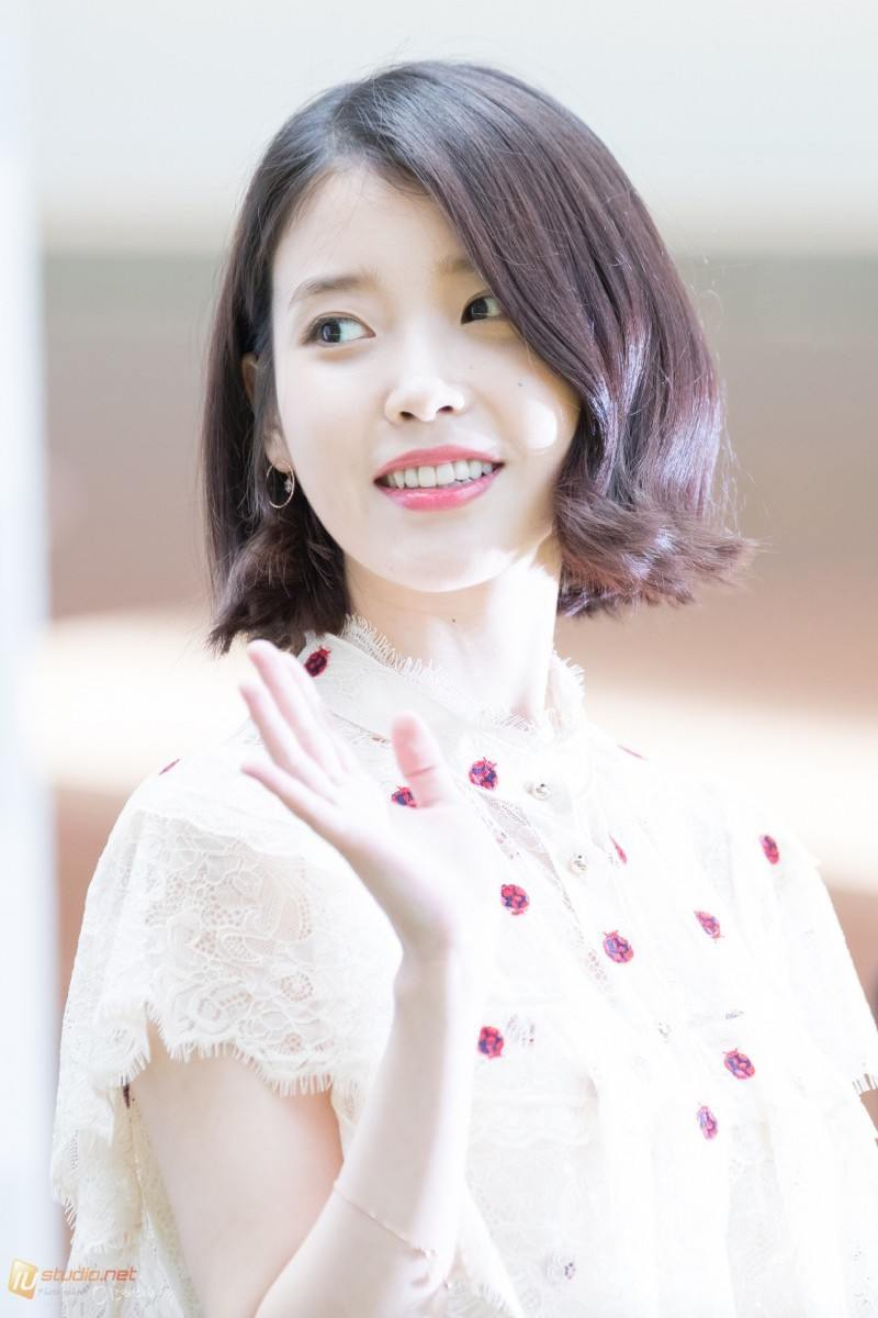 iu has perfected the short hair style � koreaboo