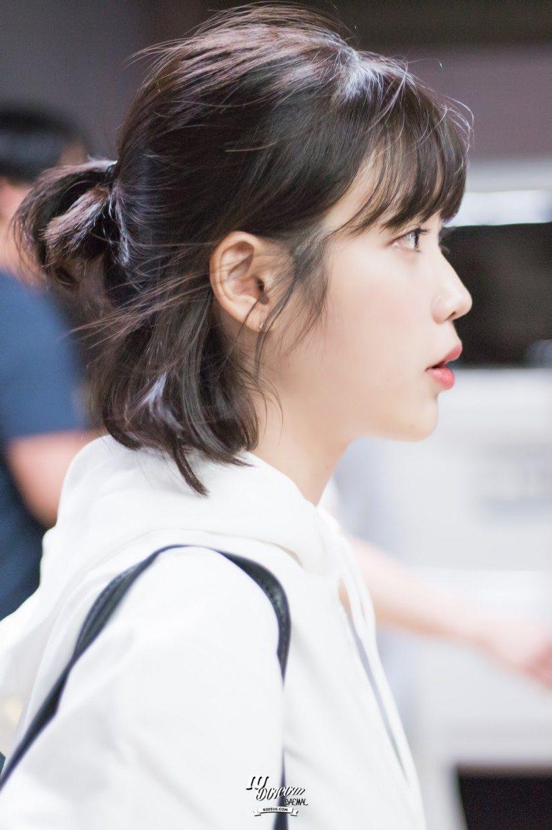 Iu Has Perfected The Short Hair Style Koreaboo