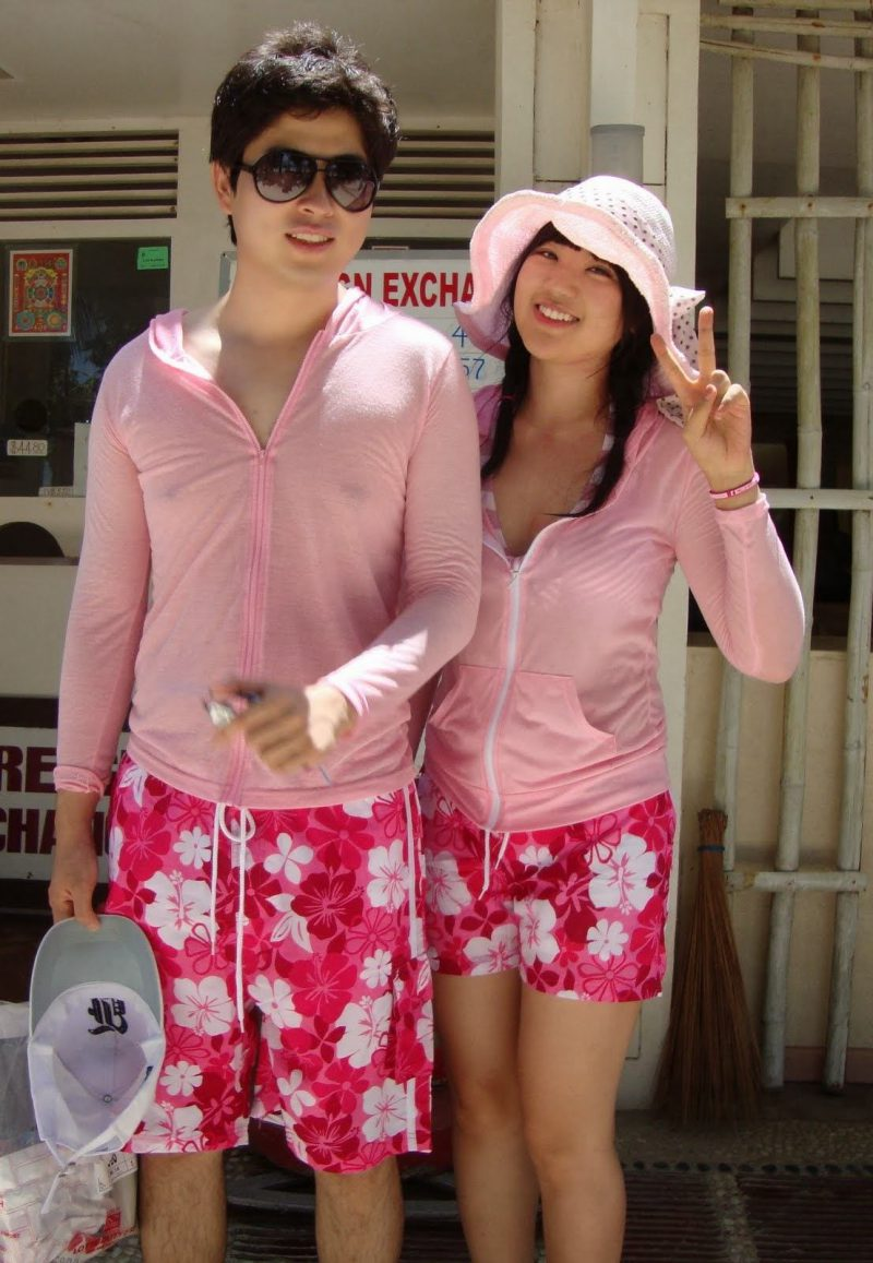 The tradition has yet to really catch on outside of South Korea but with cute outfits like these itu0027s certainly only a matter of time!  sc 1 st  Koreaboo & Couples in South Korea Wear Matching Outfits For More Than One ...