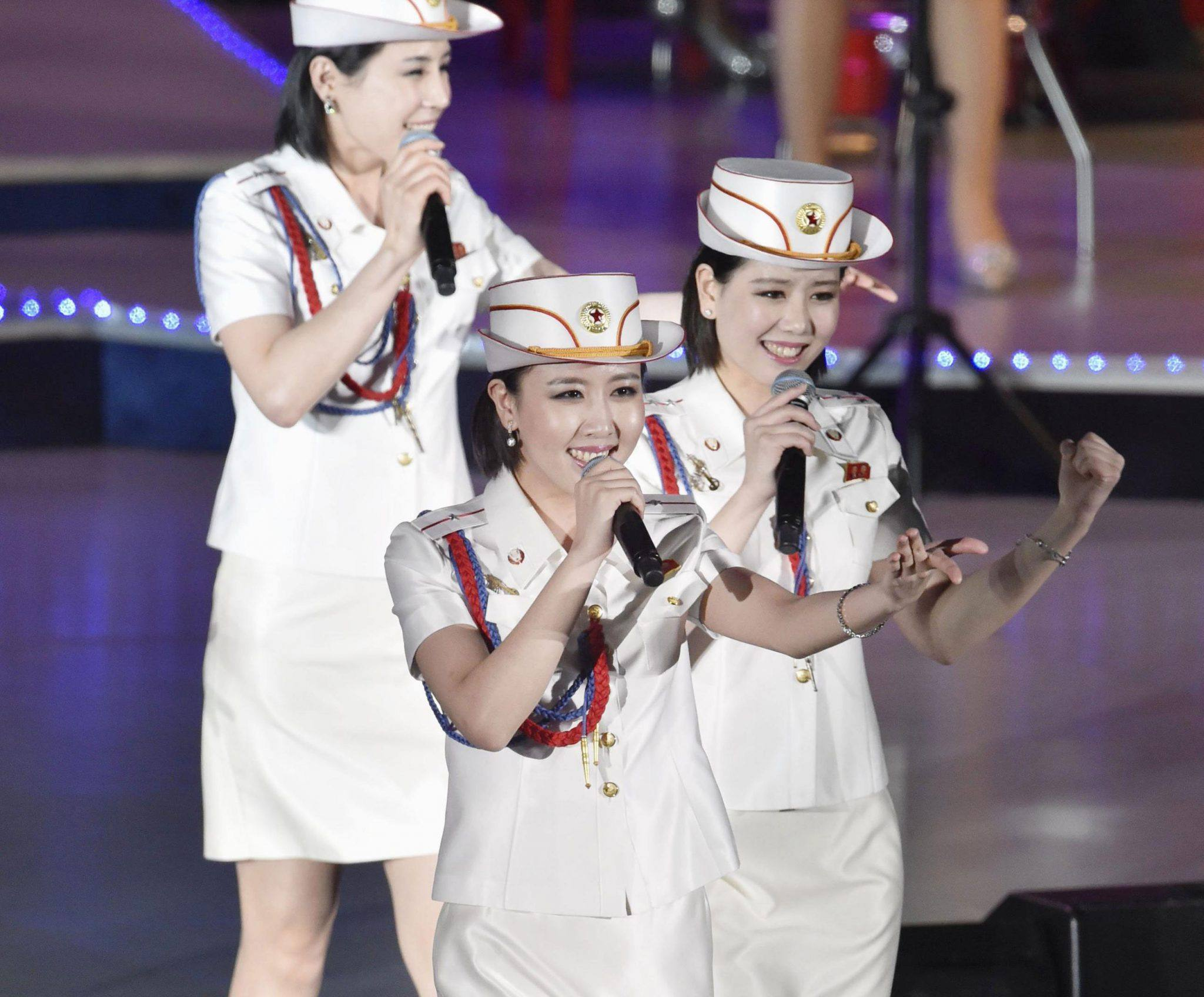 meet the moranbong band  north korea u0026 39 s girls u0026 39  generation