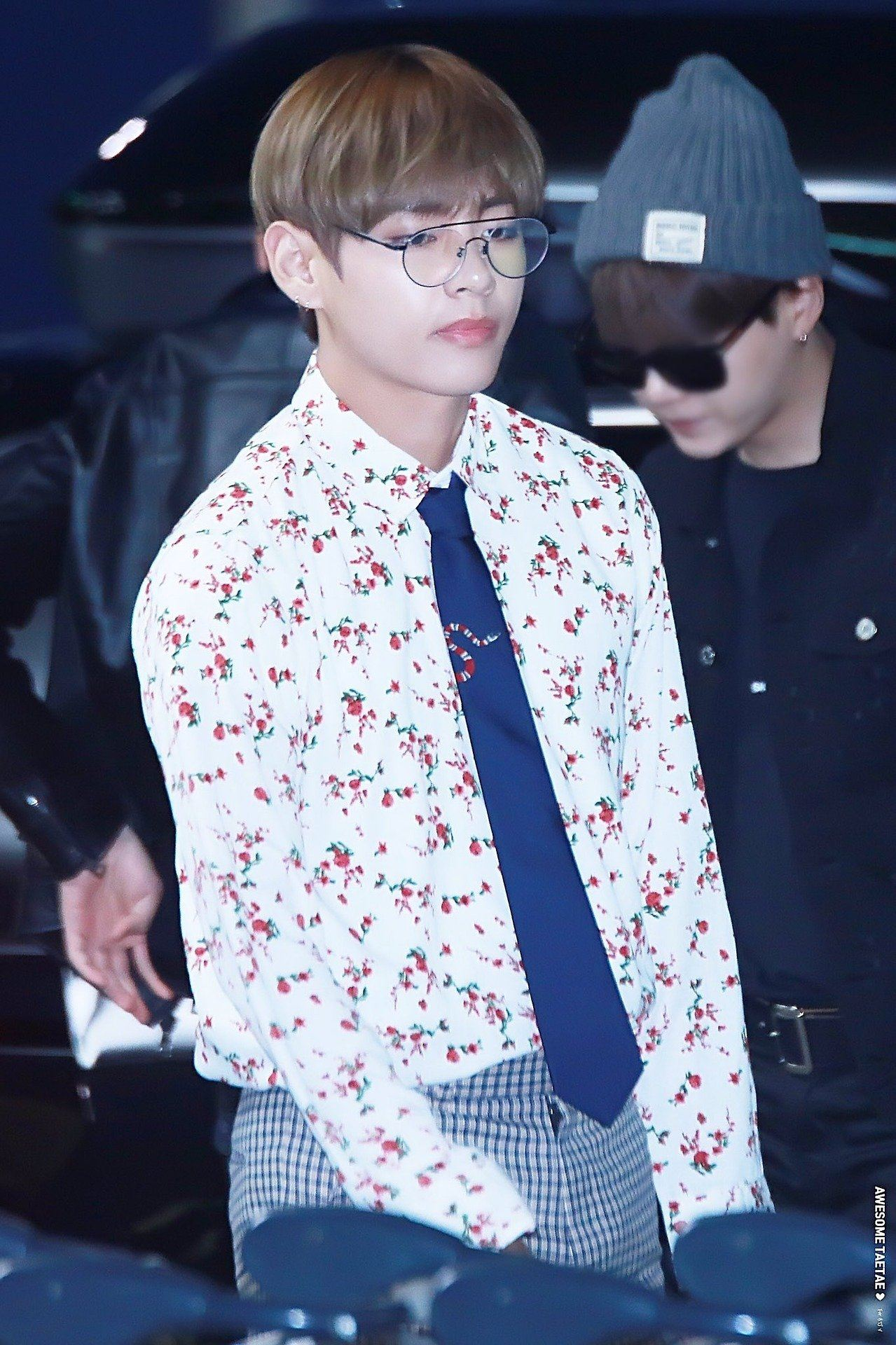 Bts V Reigns King Of Gucci With His Newest Accessories