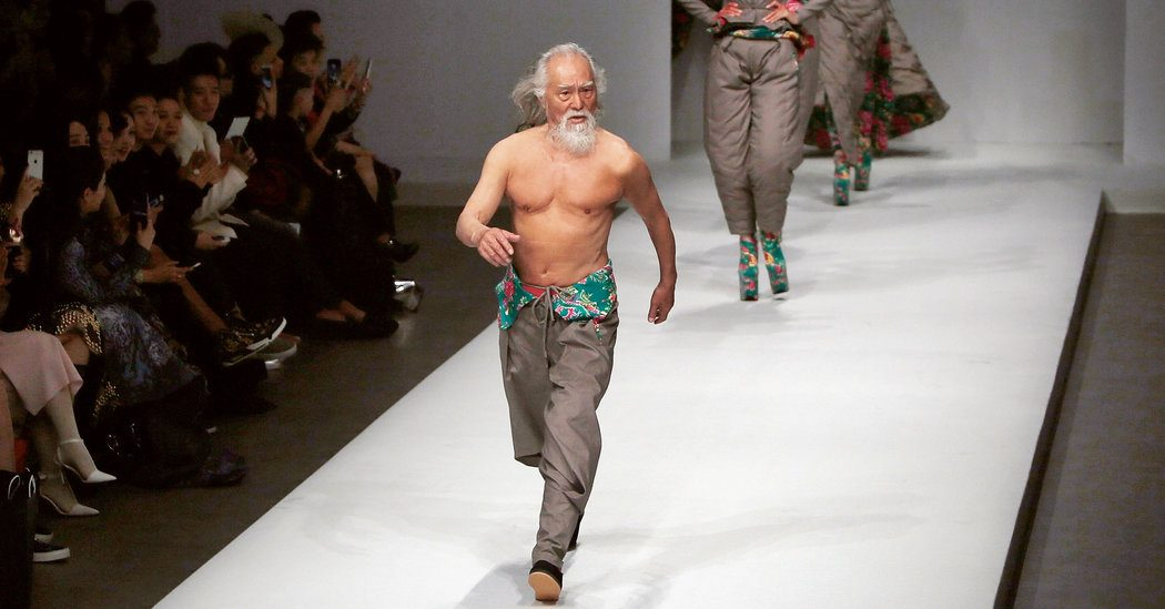 Meet Wang Deshun: The Hottest 81-Year-Old Chinese Model - Koreaboo
