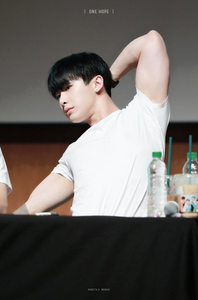 Monsta X Wonho Has Been Working Out And No One Can Handle
