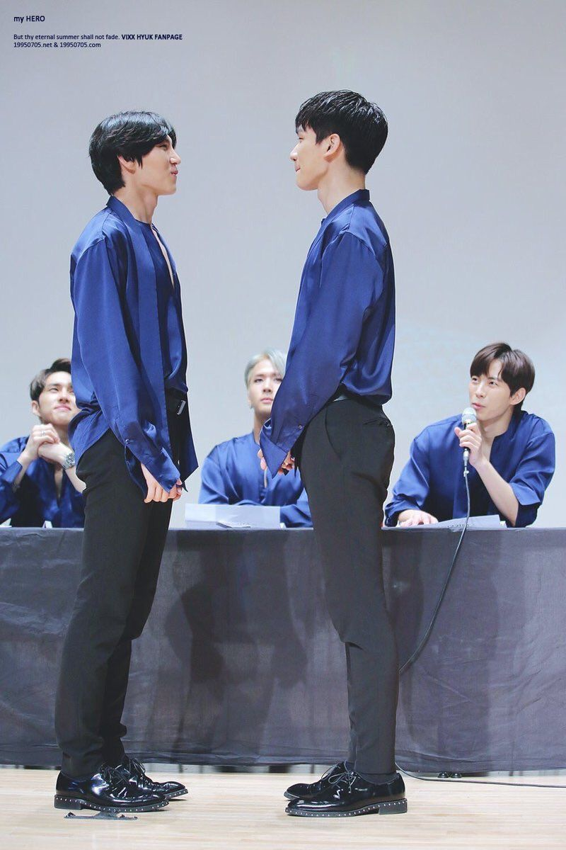 11 tallest men in k pop who may actually be giants koreaboo vixxs hyuk 184cm 6 0 altavistaventures Images