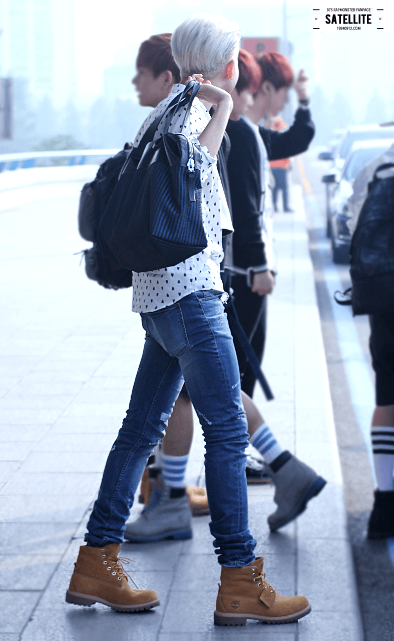 20 pictures of BTS Rap Monster's endless legs - Koreaboo