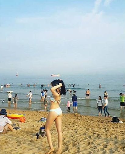 Paparazzi Catches Female Idols Half Naked At The Beach Koreaboo