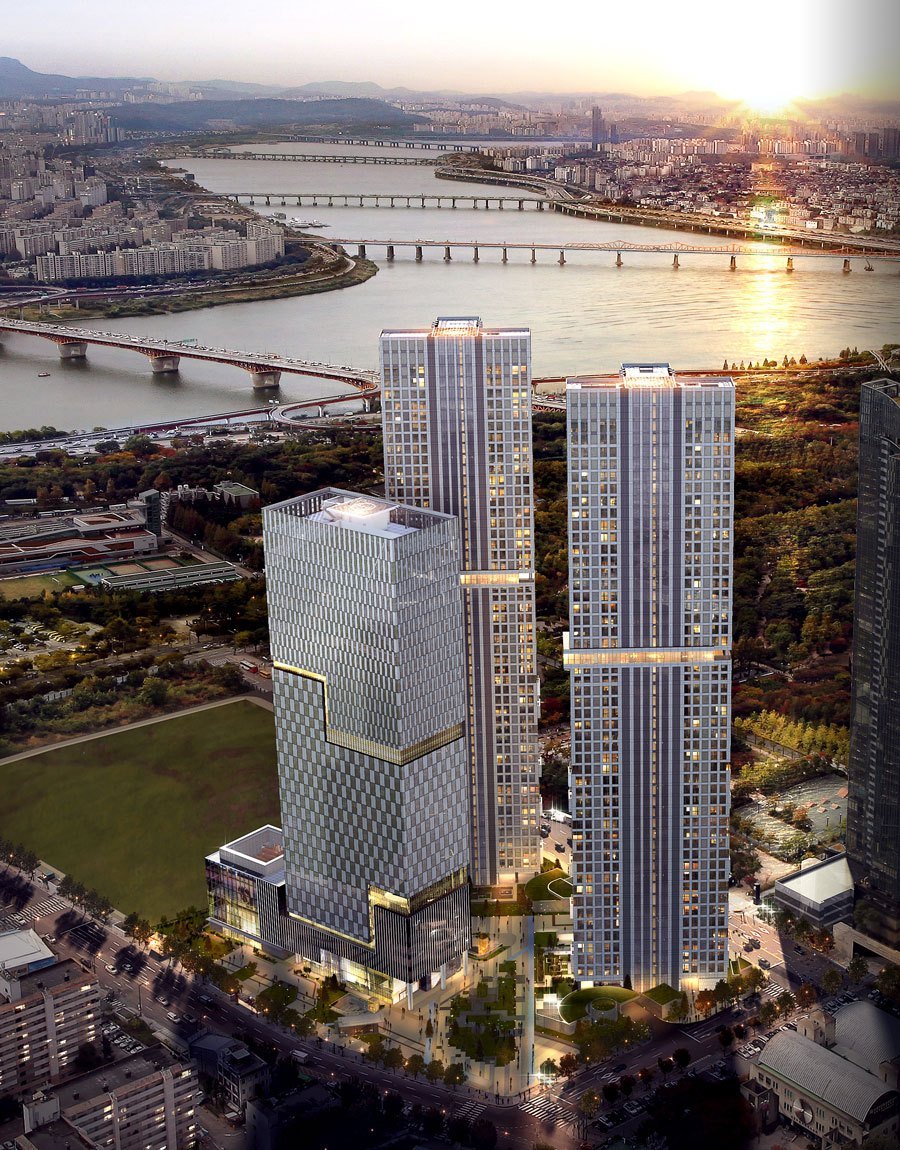 "Luxurious Apartment Complex ""Seoul Forest Trimage"" Is ..."