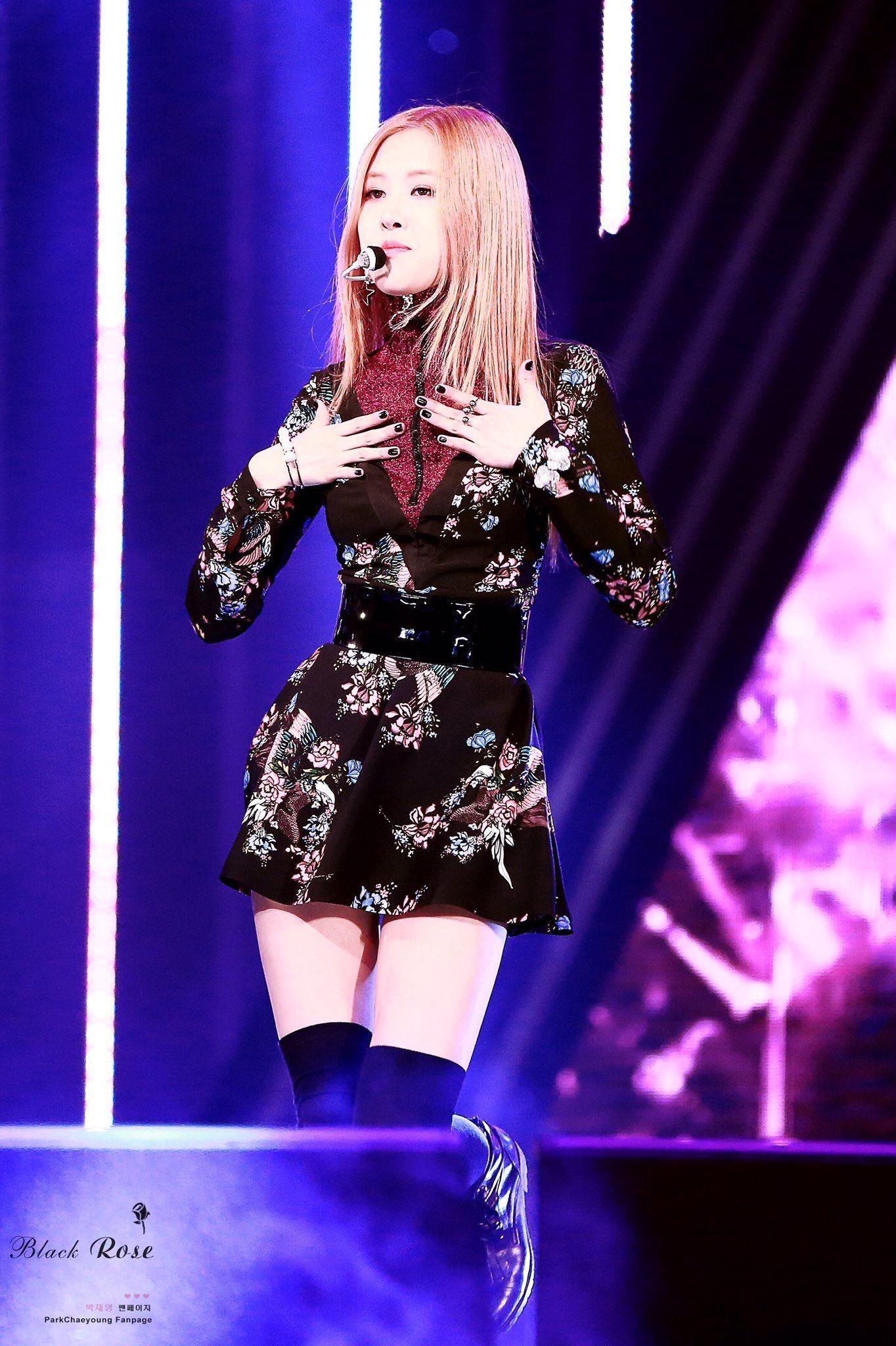 impressive blackpink rose stage outfits 1