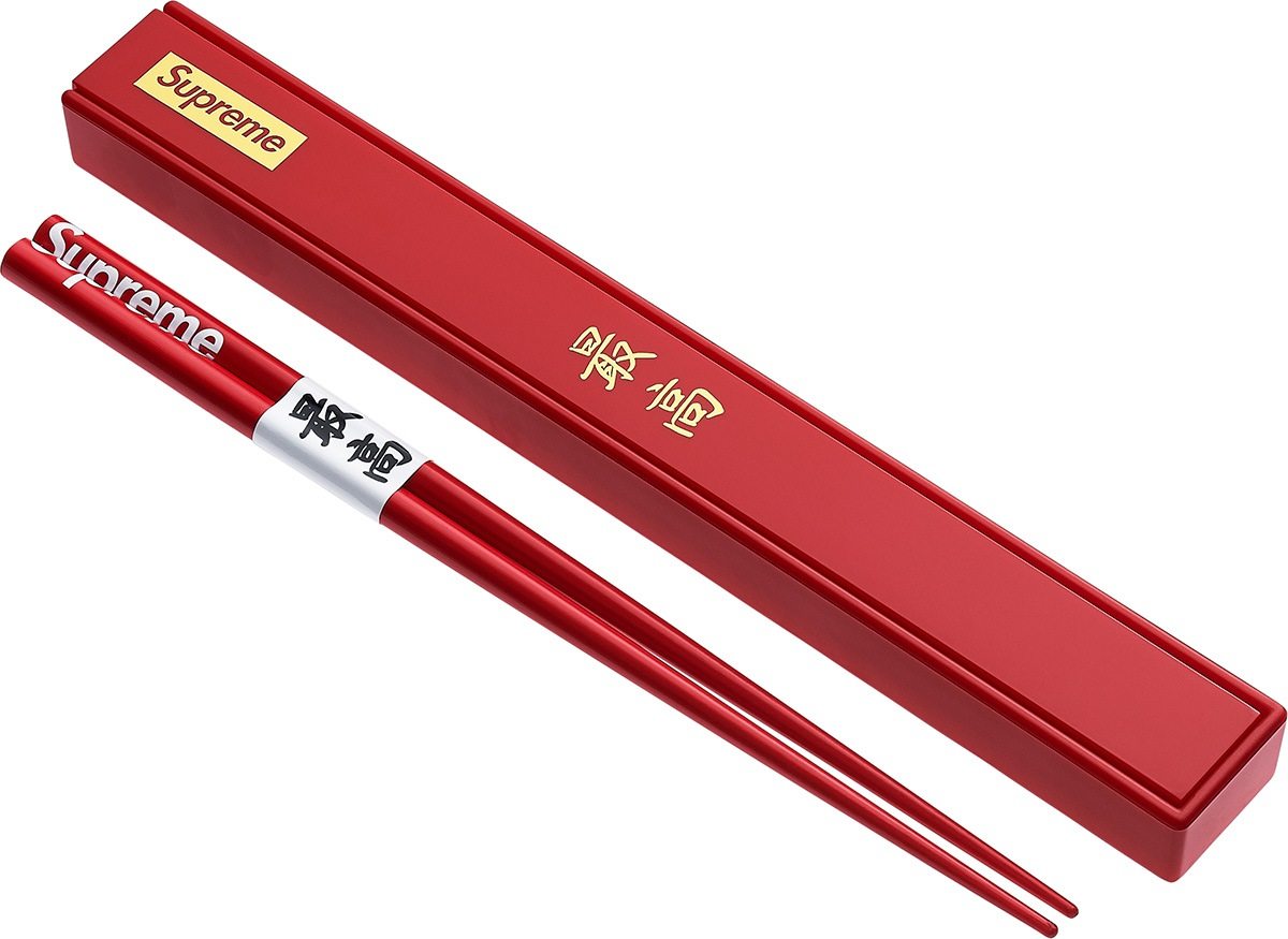 Streetwear Brand Supreme Features Chopsticks For Their New Collection Koreaboo