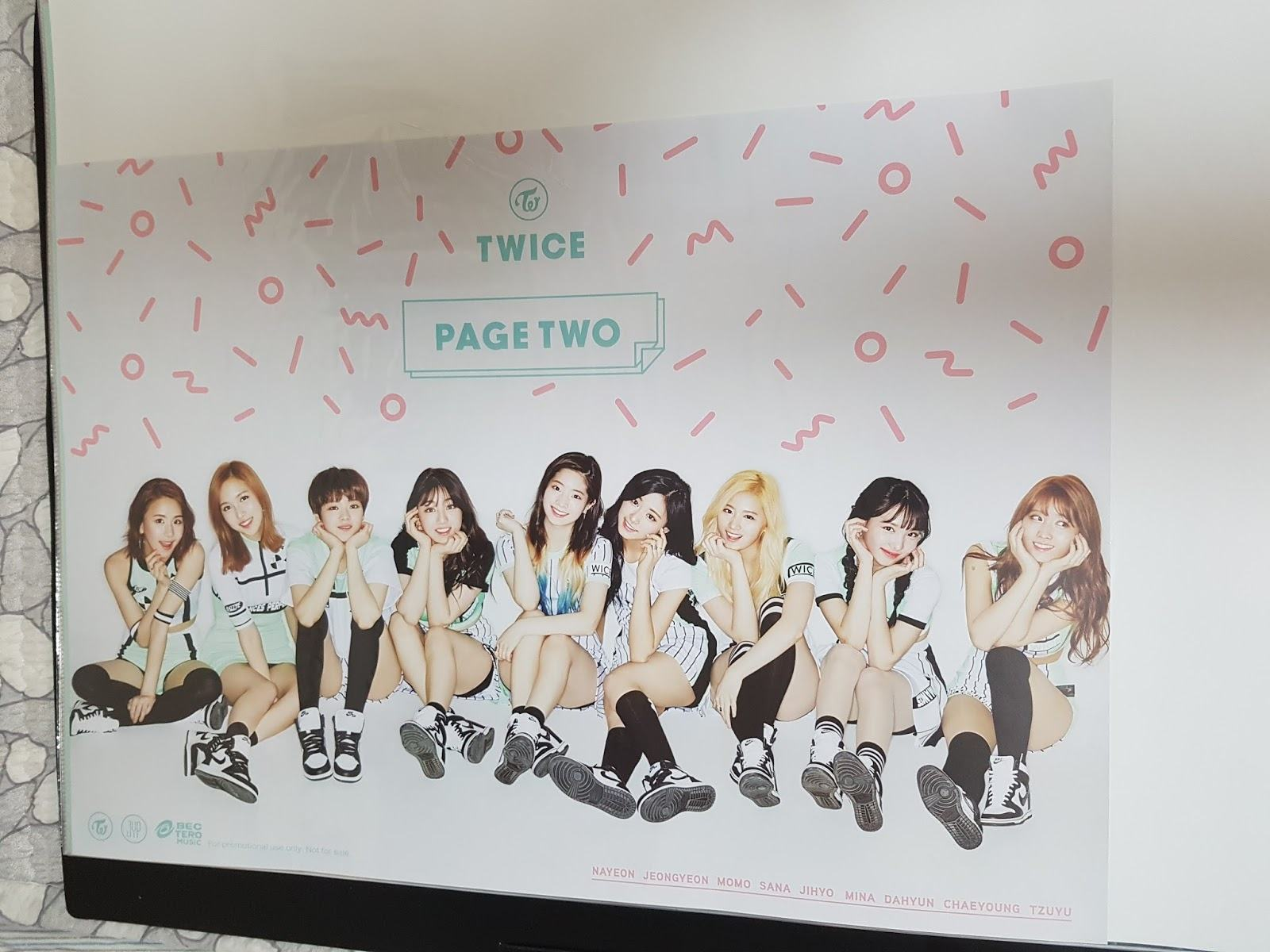 Twice Photobook Wallpaper
