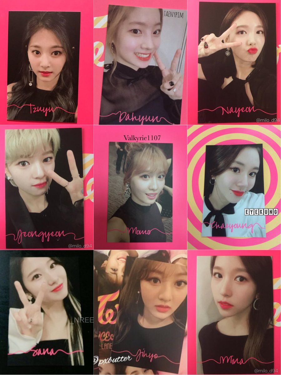 twice tcl1 thailand photocards