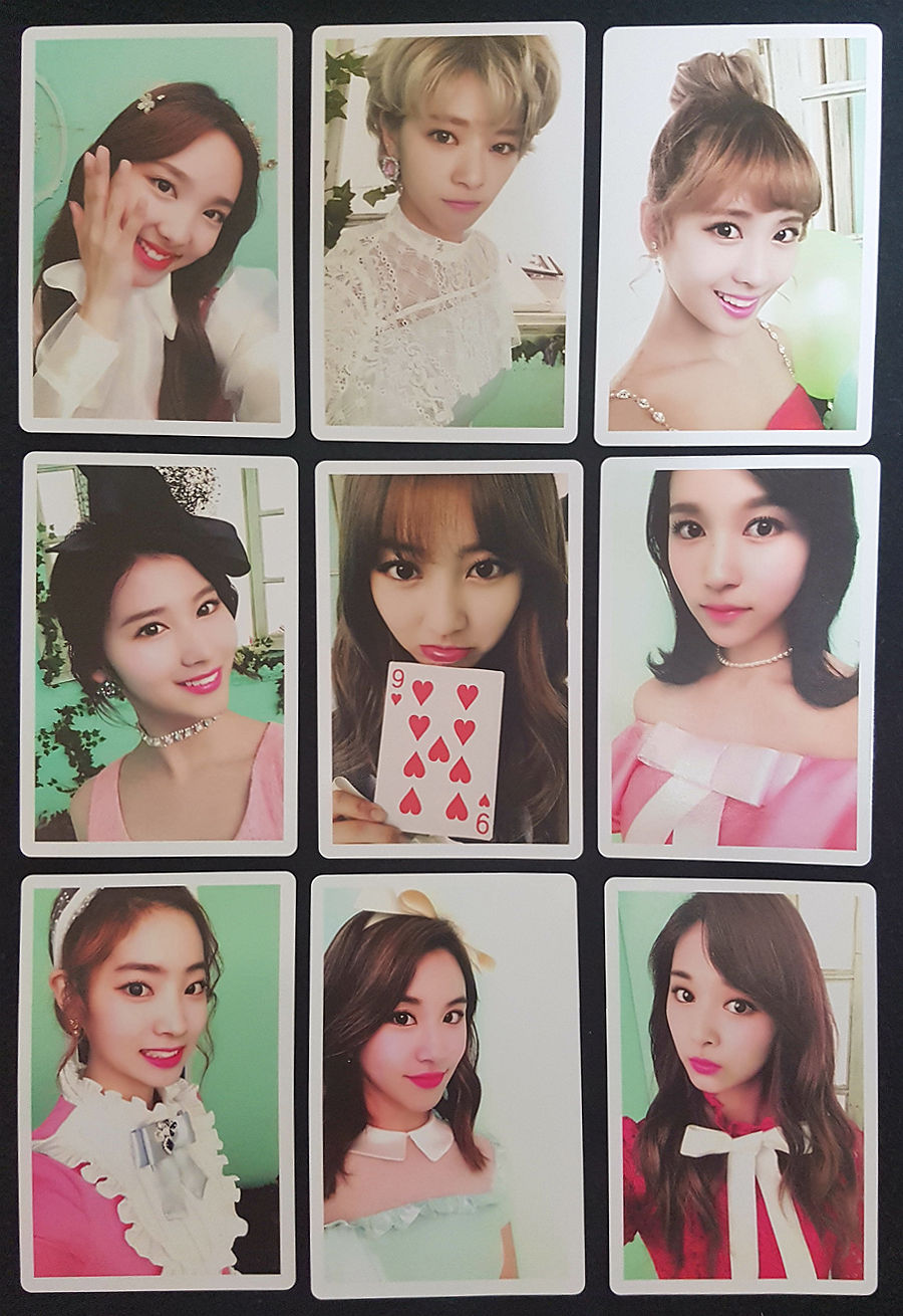 LOT of 27 TWICE Official PHOTOCARD A KNOCK KNOCK Special Ed TWICEcoaster LANE2