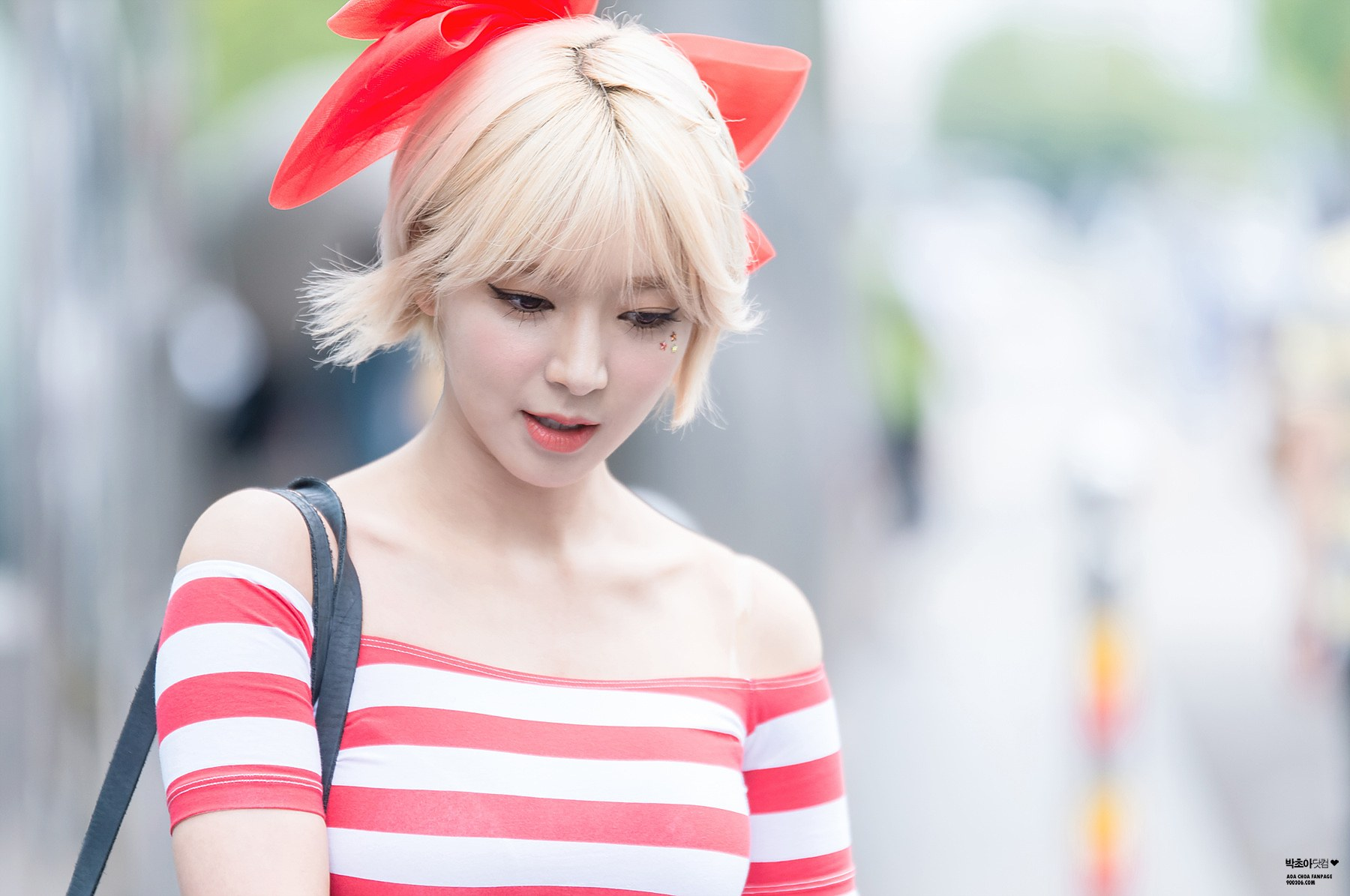 Former Aoa Member Choa Isn T Blonde Anymore For The First