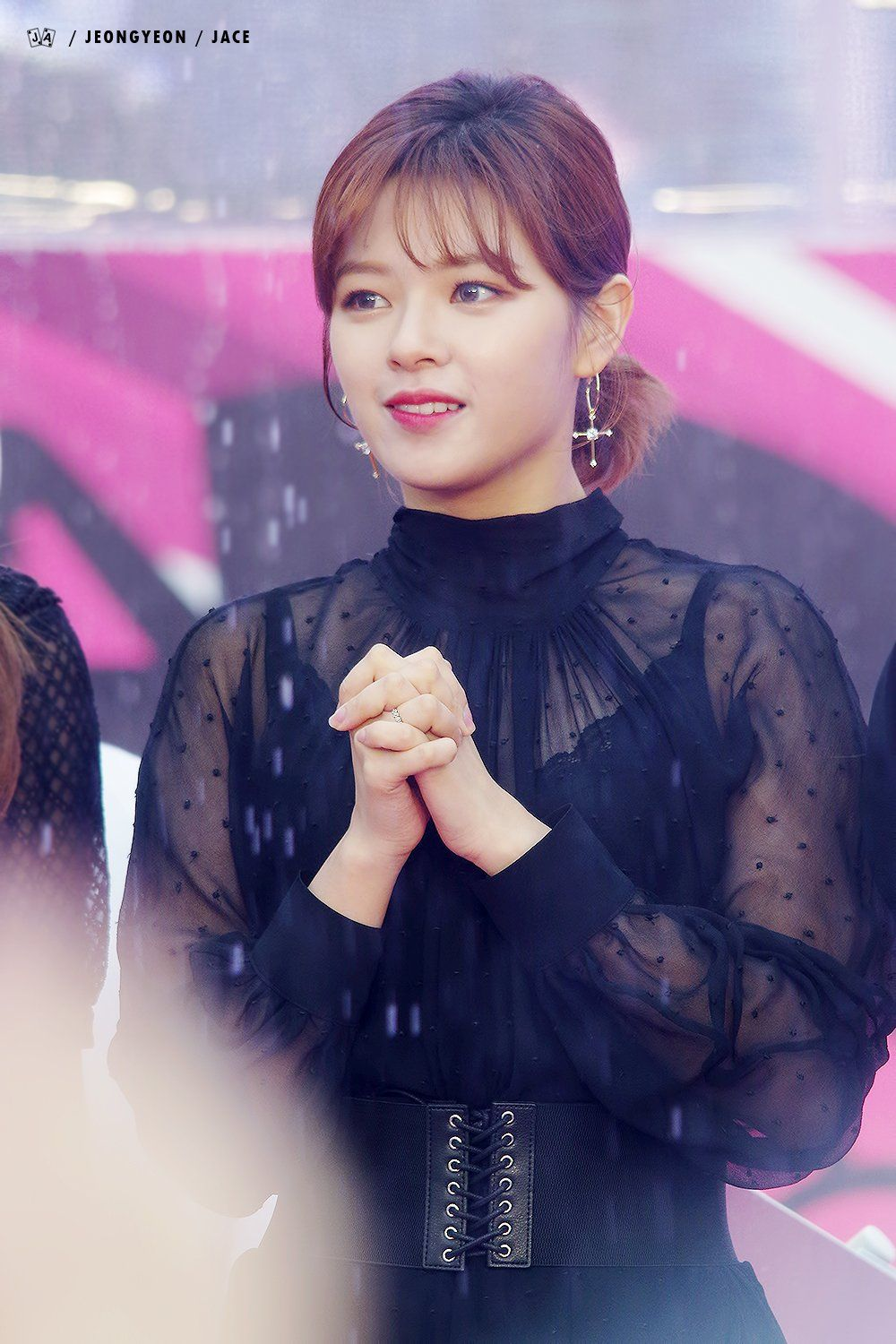 Twice S Jeongyeon Wows Fans With Pretty Feminine Styling