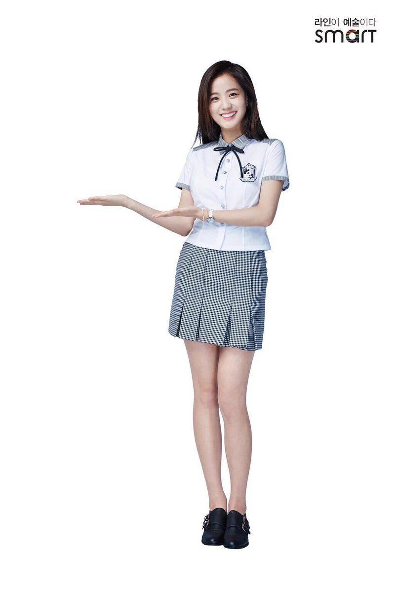 Fans Discover Pre-Debut Photos Of BLACKPINK Jisoo In School Uniform u2014 Koreaboo