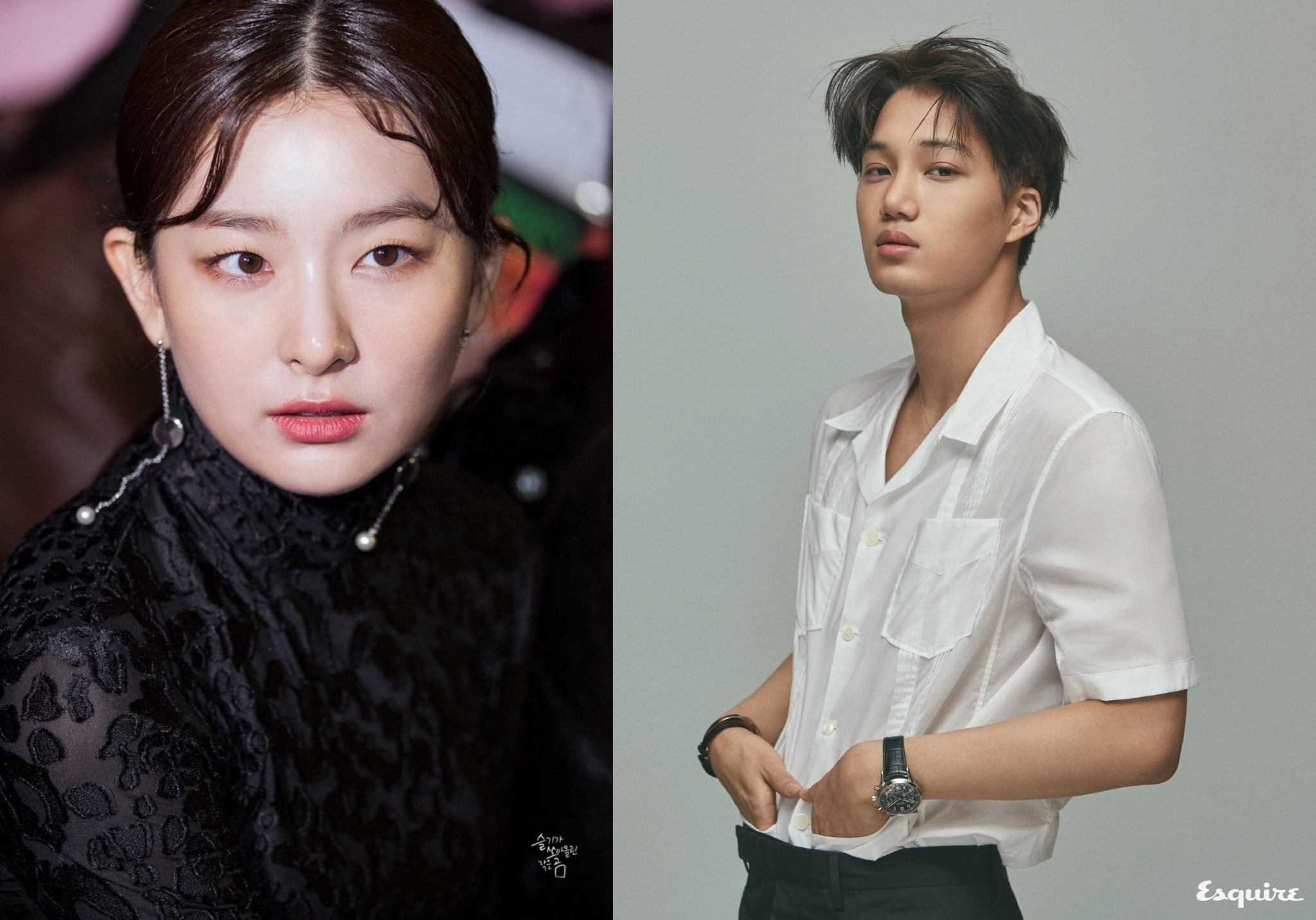 Kai and Seulgi Used To Hang Out Before They Debuted, These Photos ...