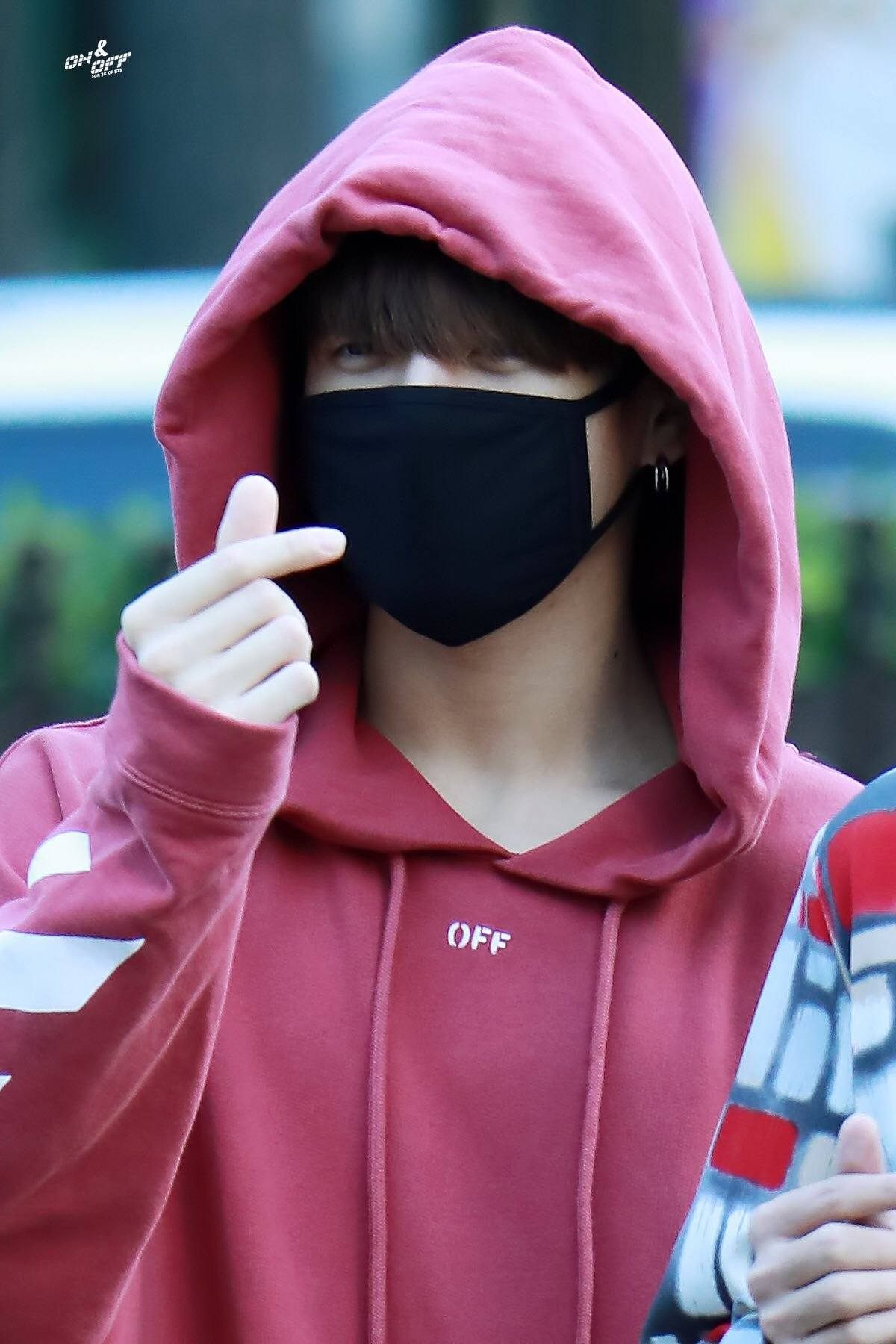 481de25f9 Jin, who is known for his affinity for the color pink and his warm,  comfortable looking hoodies most of the time…